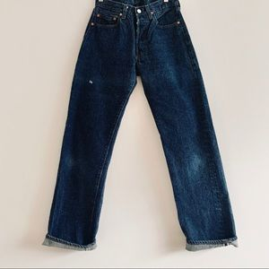 Vintage 70s Levi's 501 Selvedge Redline Jeans